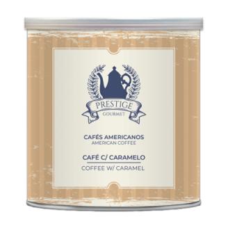 Café Americano com Caramelo