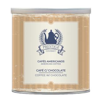 Café Americano com Chocolate